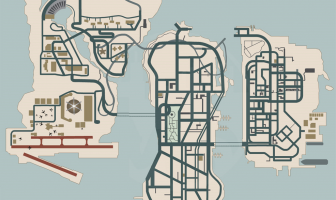 Liberty City Stories iMap